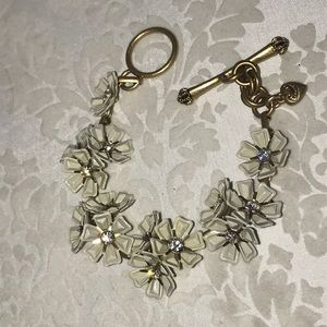 Juicy couture flower bracelet